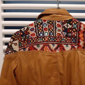 Other - NOT 4 SALE Free People Embellished Leather Jacket